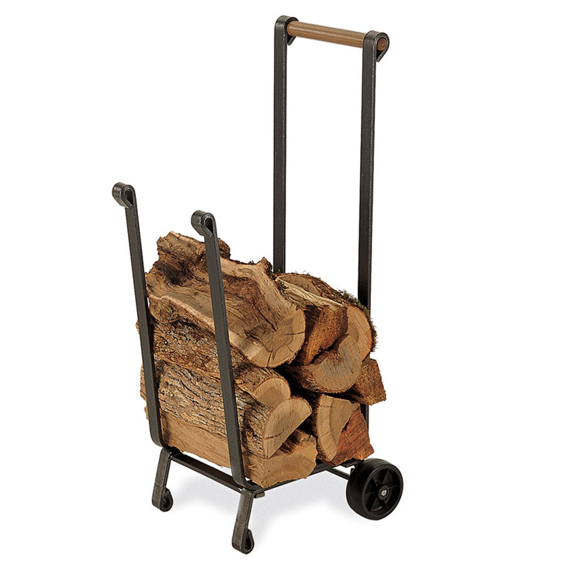 Forged Iron Wood Cart